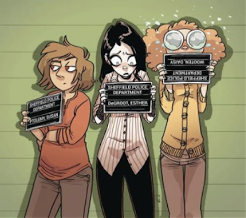 Giant Days Cover